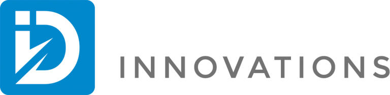 Damasco Innovations Logo, a website development, and digital marketing agency located in florida, serves the united states.