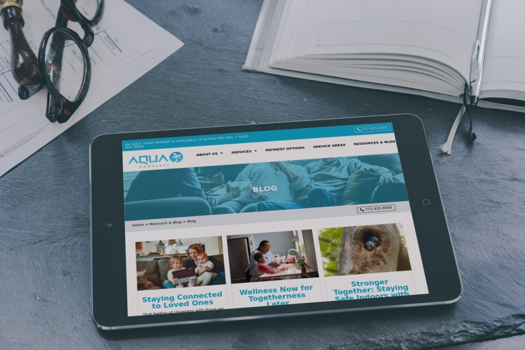 Case Study of Aqua HC Blog Posting as done by the website developers & designers of Damasco Innovations which is a Website Development & Digital Marketing Company based in Florida